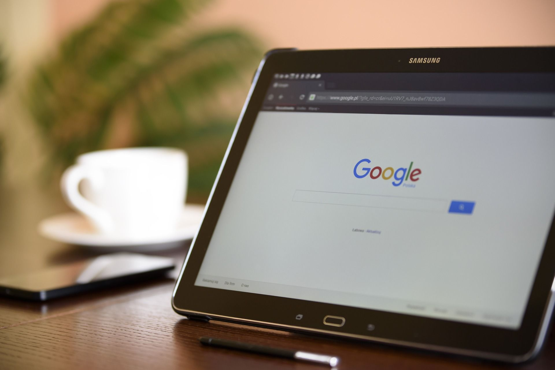 Google search on device