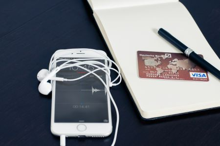 phone and credit card
