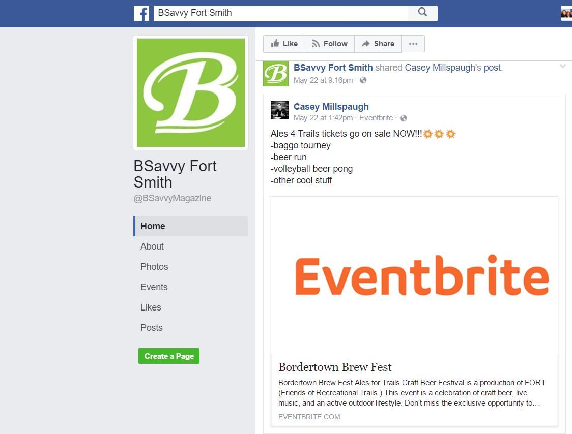 BSavvy facebook page