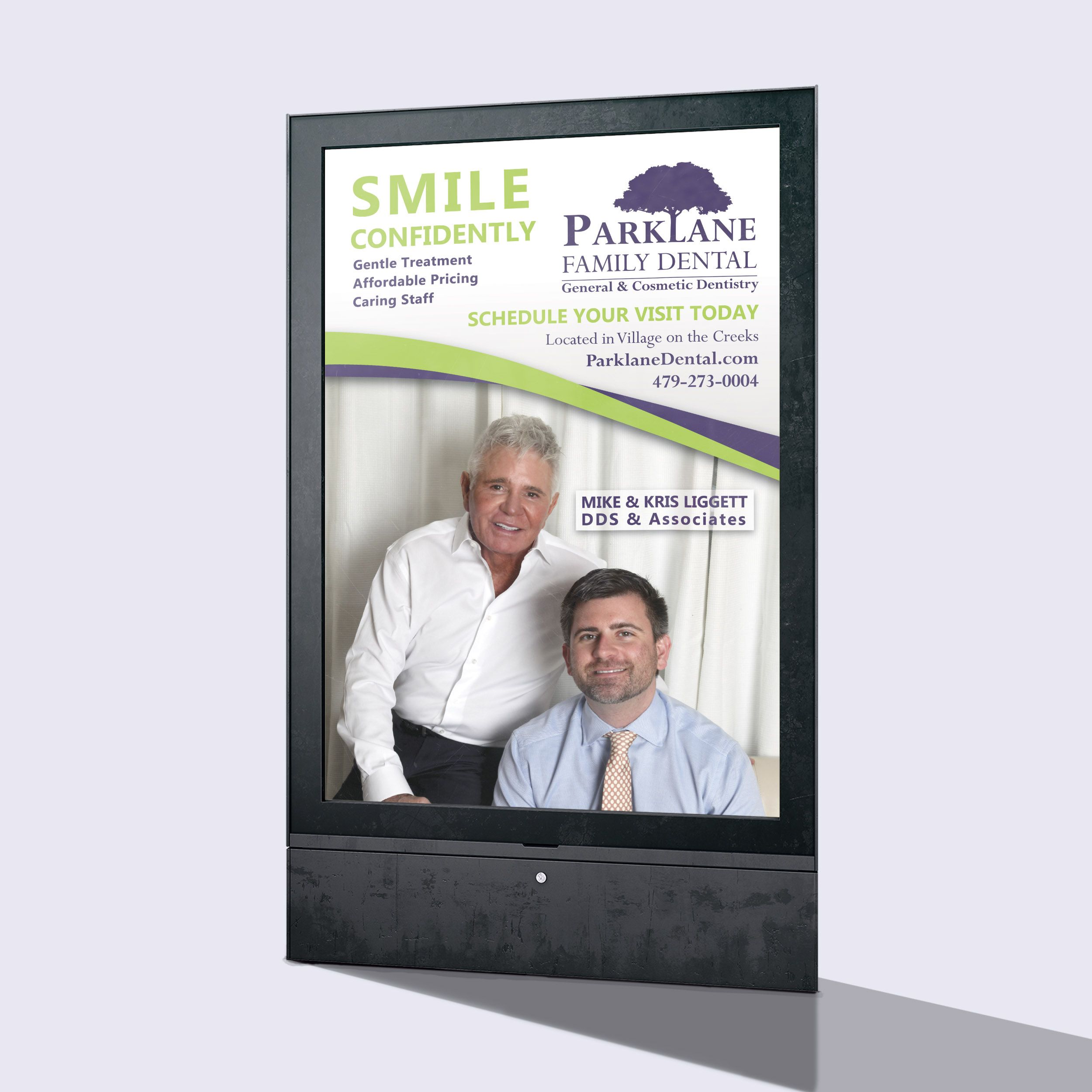 Parklane Family Dental Billboard